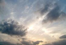 Kako lahko opazujemo oblake?